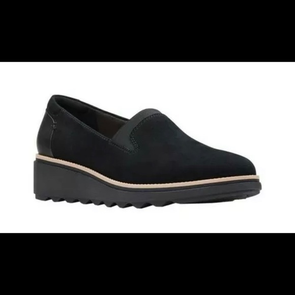 Clarks Womens Sharon Dolly Loafer Shoes